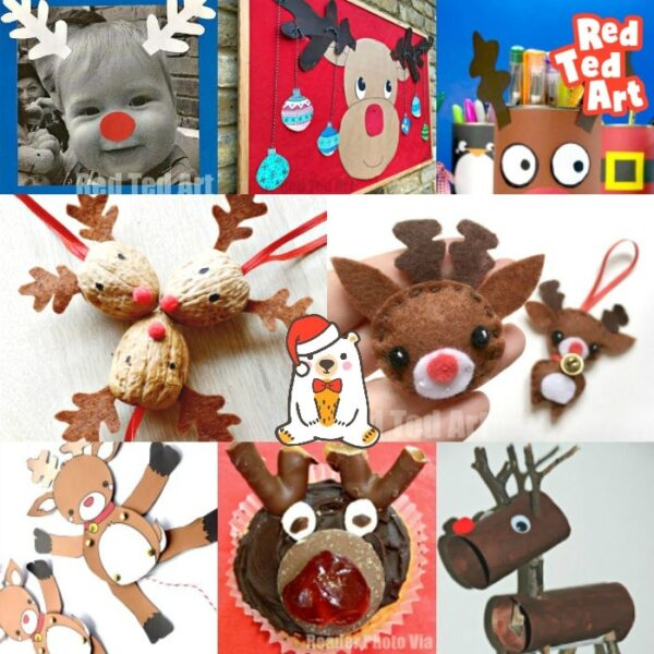 Collection of easy Reindeer Craft Ideas for kids