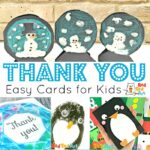 Super Simple Thank You Cards this Winter