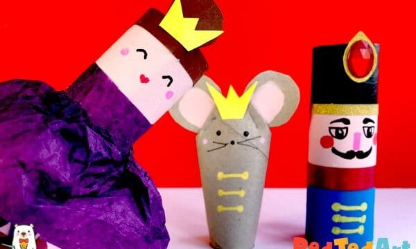 How to make a Toilet Paper Roll Ballerina for the Nutcracker