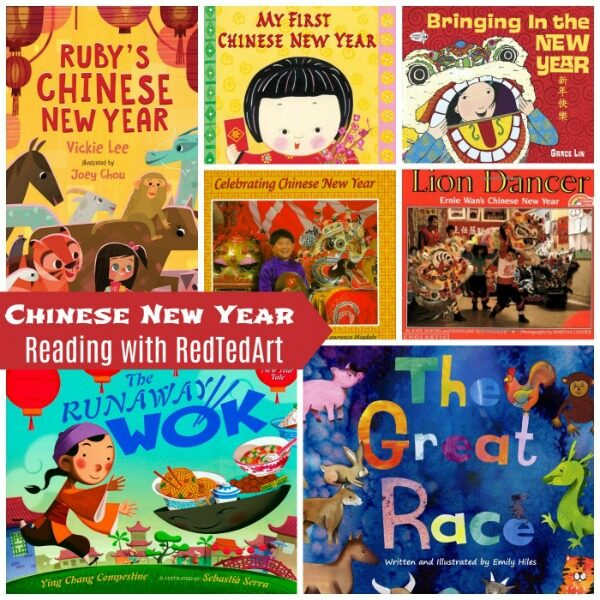 Books about Chinese New Year for Kids
