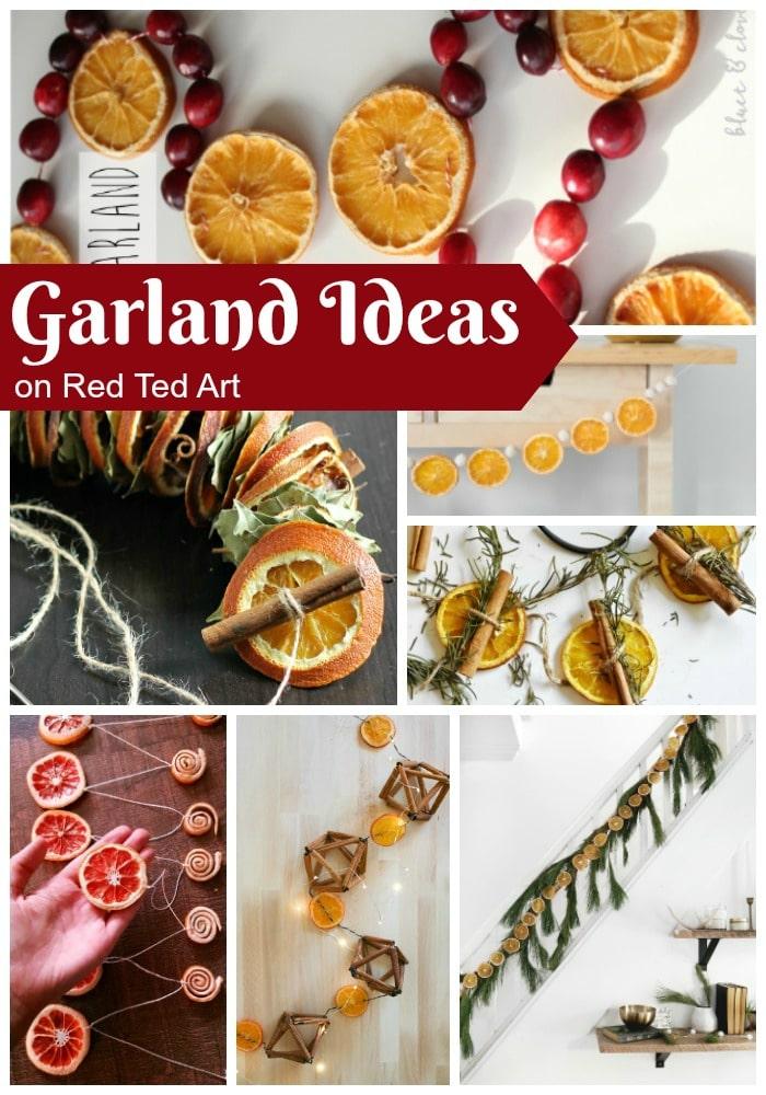 DIY Orange Garland Ideas