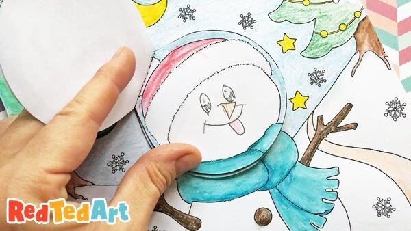 Emotions Snowman - fun SEL resources for kids - Red Ted Art - Make crafting  with kids easy & fun