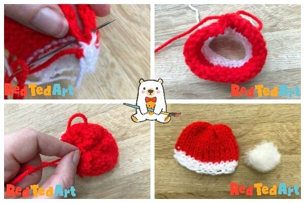 How to knit a mini hat