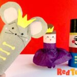 Toilet Paper Roll Mouse (and Mouse King Craft)