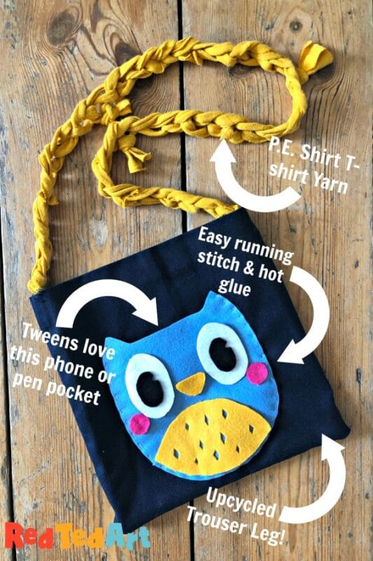 UK MADE /& DESIGNED CHILDREN/'S READY TO SEW FUR FABRIC KIT MAKE A BABY OWL