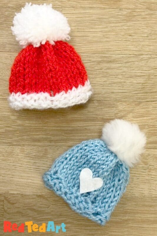 Knitted Mini Hat Pattern