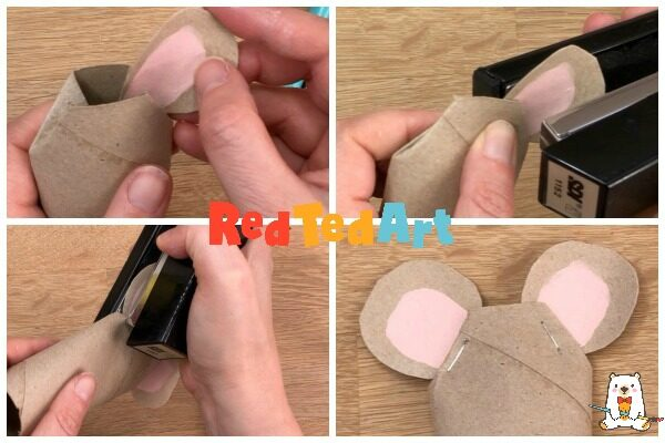 Toilet Paper Roll Mouse king for the Nutcracker fans or Rat Craft enthusiasts