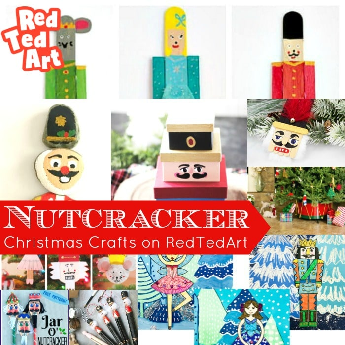 Fun Nutcracker Crafts for Kids at Christmas