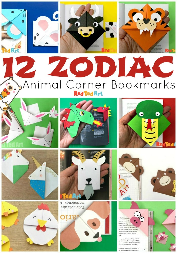 Chinese Zodiac Animals: 12 Chinese Zodiac Bookmark Designs - which Zodiac Animal are you?