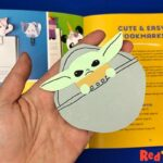 Paper Baby Yoda Corner Bookmark Design