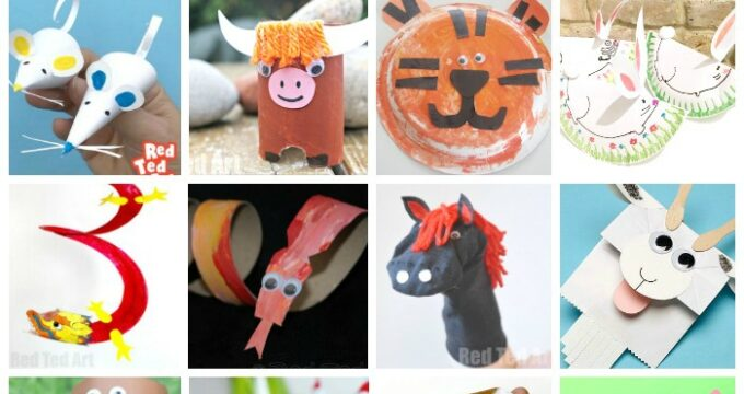 Exploring Chinese New Year with Animal Crafts for the Chinese Zodiac
