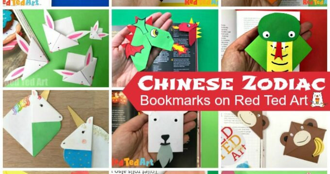 12 Chinese Zodiac Bookmark Designs - which Zodiac Animal are you?