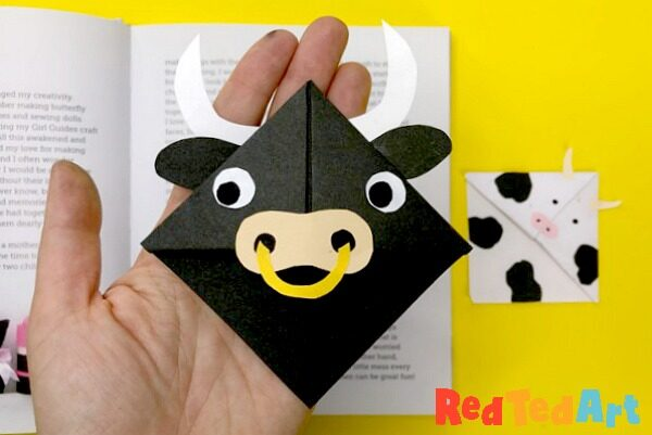 Cow Corner Bookmark Designs