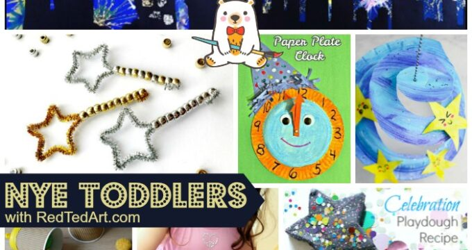 New Year's Eve ideas for preschoolers