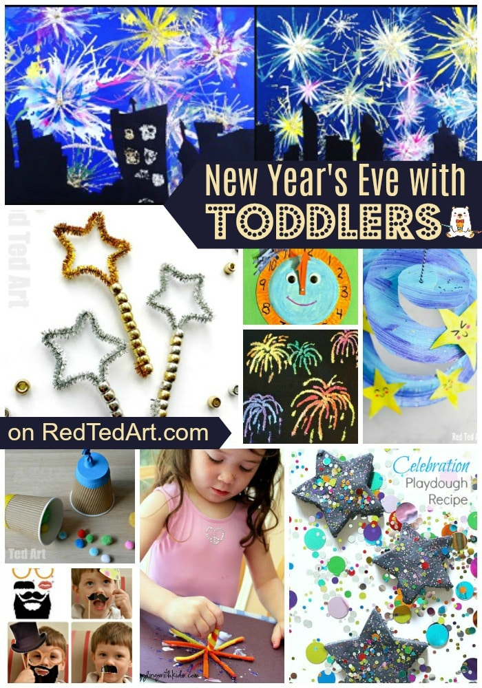 New Year's Eve ideas for toddlers