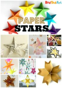 Gorgeous Paper Star Crafts and DIYs