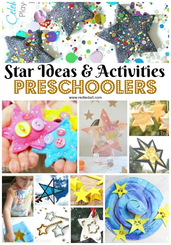 Star Crafts & Activities for Preschoolers