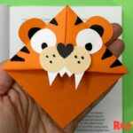 TIger Corner Bookmark Designs