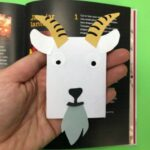 Make your own Goat Bookmark Corner