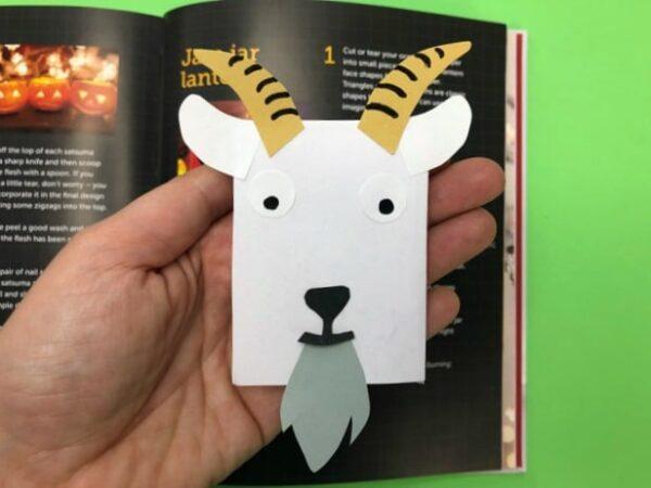Goat Corner Bookmark Designs