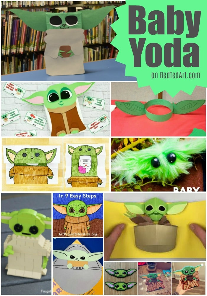 """Super cute Baby Yoda Crafts for loves of """"The Child"""", The Mandalorian"""