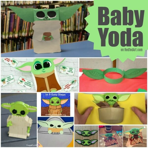 "Super cute Baby Yoda Crafts for loves of ""The Child"", The Mandalorian"