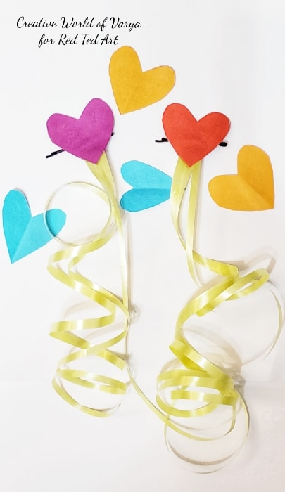 Valentines Heart Hair Accessories