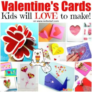 Valentines Cards for Kids to Make