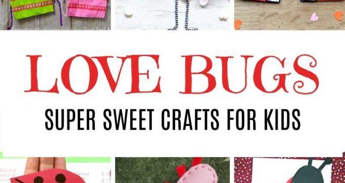 Valentine's Day Ideas - Love Bug Crafts