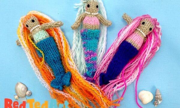 Mermaid Knitting Pattern for beginners