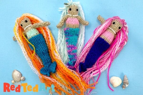 Mermaid Knitting Pattern for beginners