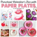 Paper Plate Valentines Crafts for Preschoolers