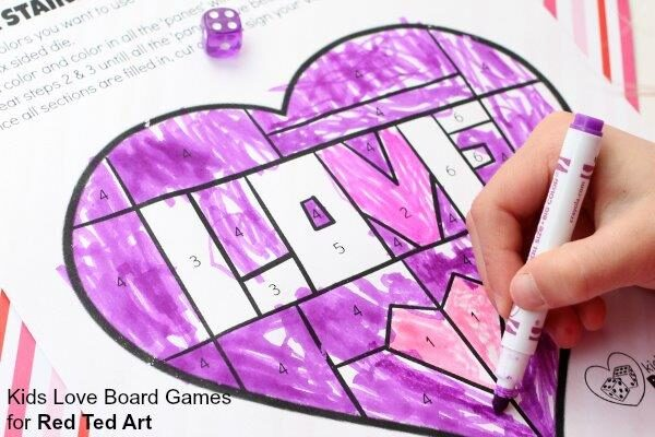 Fabulous Stained Glass Valentines Game