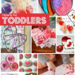 Heart Crafts for Toddlers & Preschoolers
