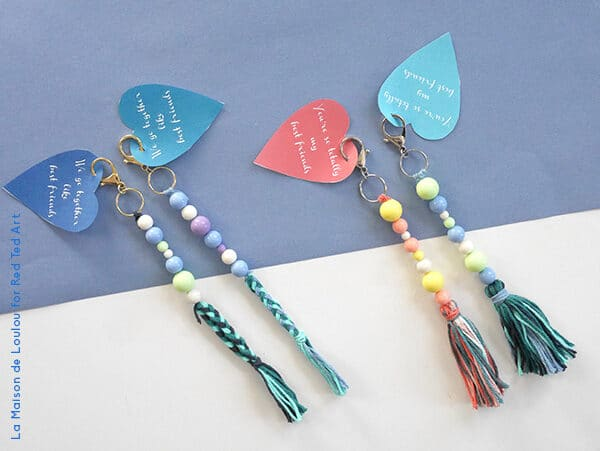 adorable keychains for valentine's day