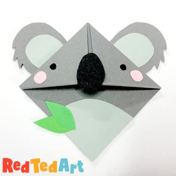 Koala Corner Bookmark