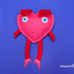 Heart Softie Pattern for Kids