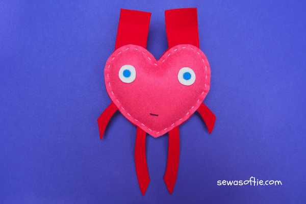Heart Softie Pattern for Kids