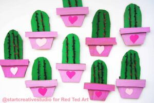 Fun with DIY Cactus Cards this Valentine's Day