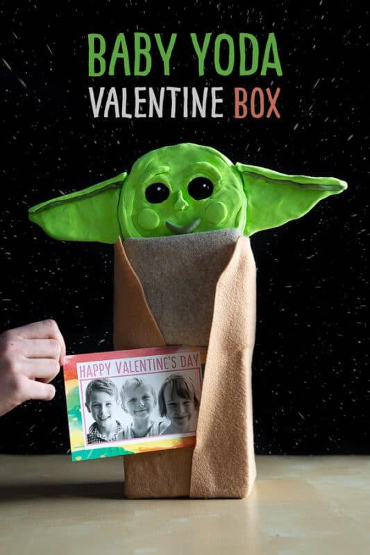Baby yoda Valentines Day Box