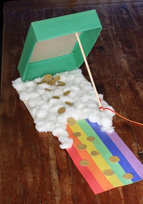 Leprechaun Trap for Preschoolers to make