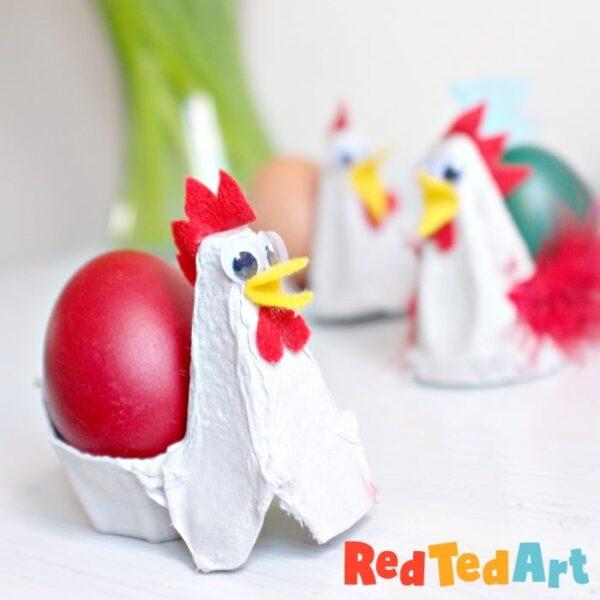 Egg Carton Chicck