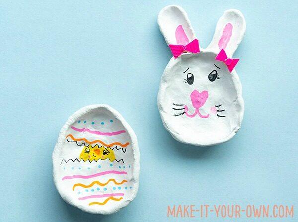Easter Egg pinch pots