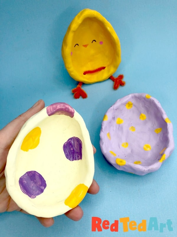 Egg Pinch Pots