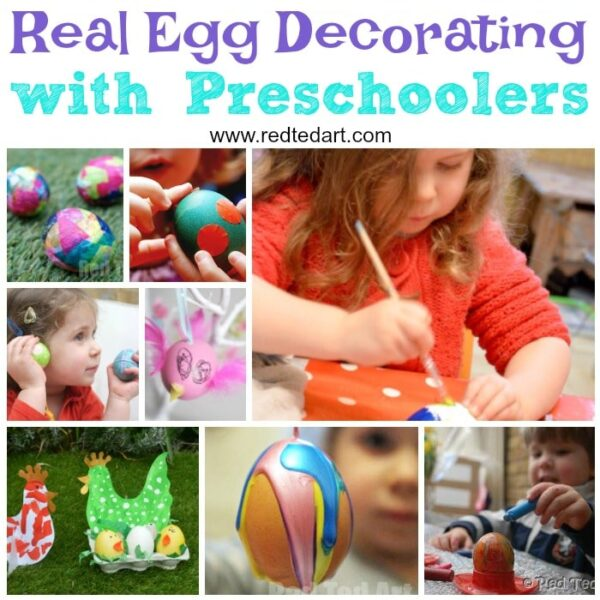 Easter Egg Decorating with Toddlers