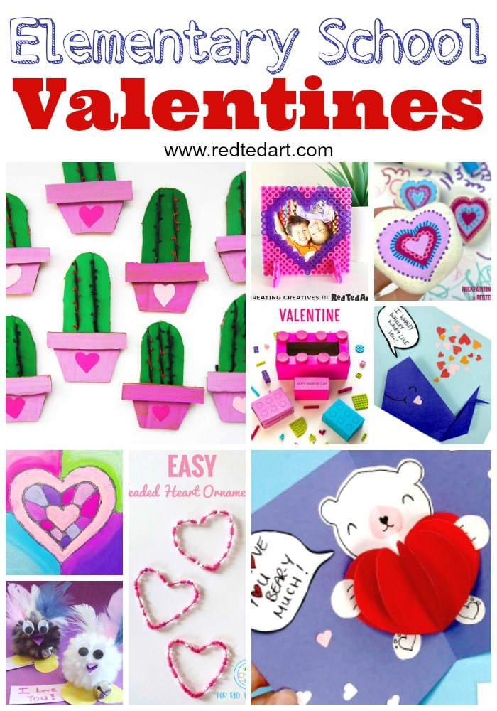 Valentine's Day Ideas for Elementary School