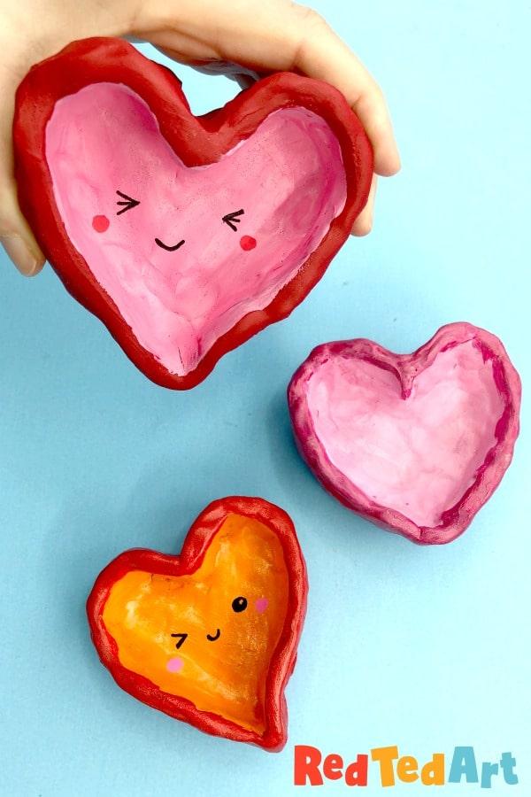 How to make a Pinch Pot Heart