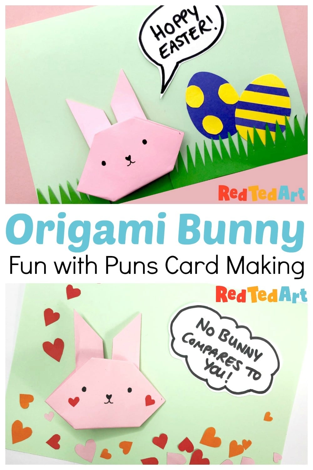 TUTORIAL – How to Fold an Origami Bunny Rabbit | Dreams of Whimsy ... | 1500x1000