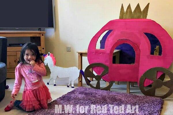 DIY Princess carriage