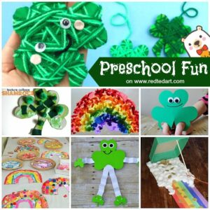 St Patrick's Day Preschool Crafts